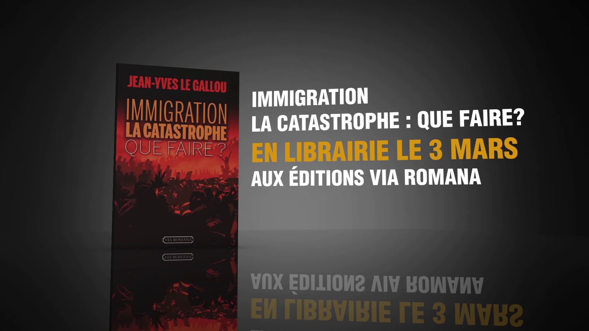 « Immigration : la Catastrophe — Que faire ? » de Jean-Yves Le Gallou