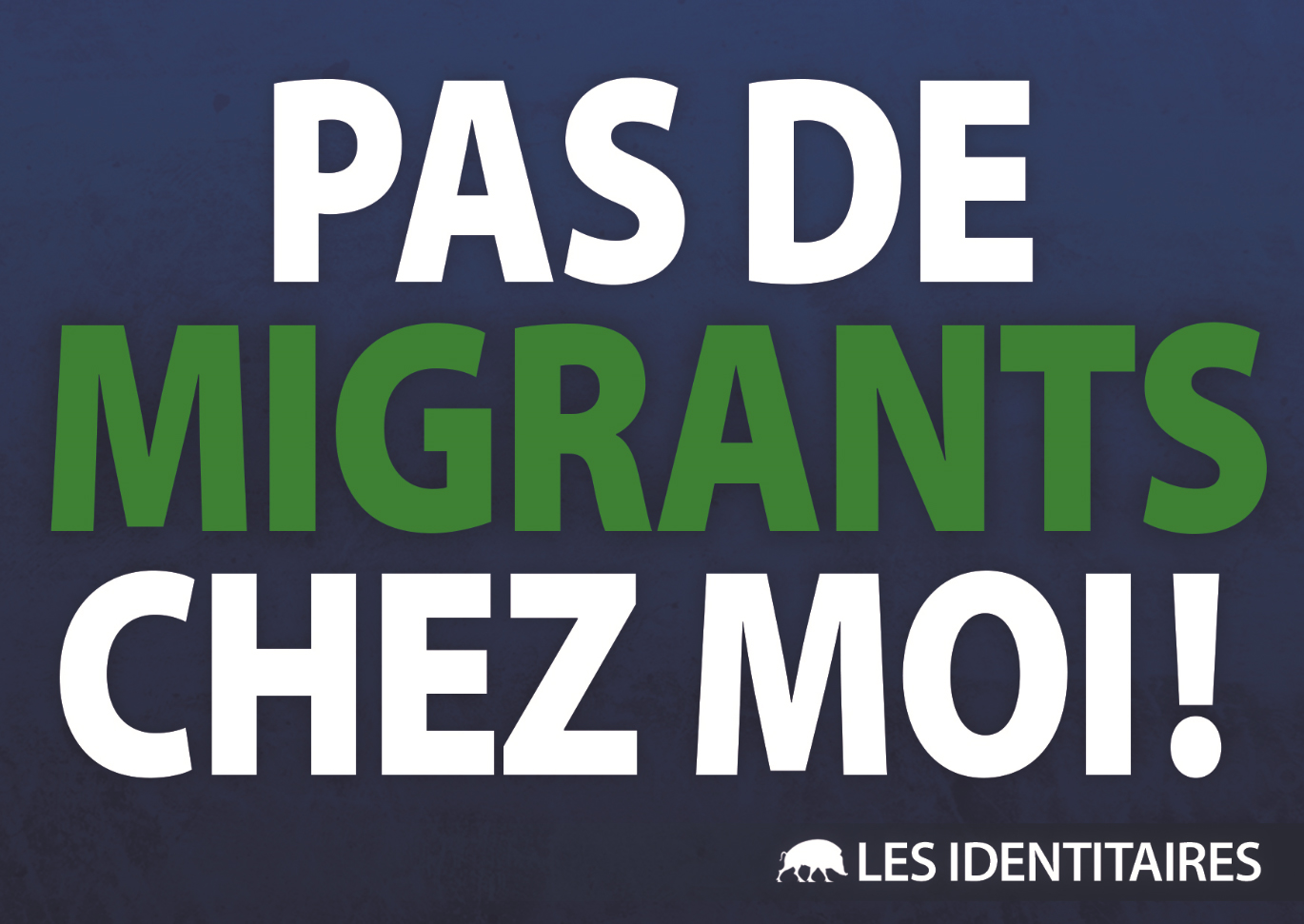 Migrants : Non à la répartition ! Oui à la remigration !